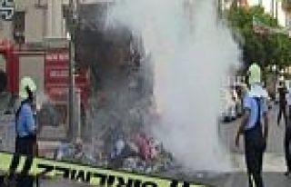 AK Parti Binası Önünde Patlama