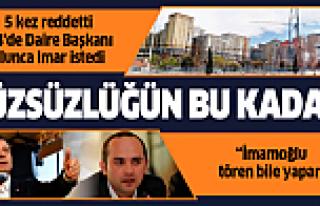 AK Parti döneminde defalarca kez durdurdukları projeyi...