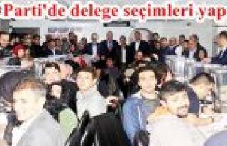 AK Parti Gaziosmanapaşa Delege seçimi Bayram havasında...