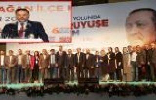 AK Parti Gaziosmanpaşa'da 6.Olağan Kongresi Yapıldı.Yeni...
