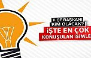 Ak Parti Gaziosmanpaşa'da Kimler İl'e Gitti!