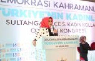 Ak Parti Sultangazi'de Nurcan Öztürkmen Güven...