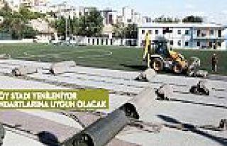 Alibeyköy Stadı, FIFA standartlarına uygun hale...
