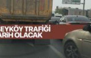 Alibeyköy trafiği tarih oluyor