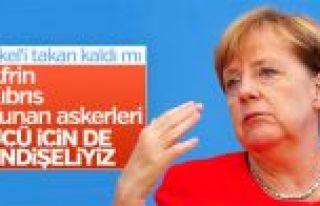 Angela Merkel'in Türkiye'yle ilgili endişeleri