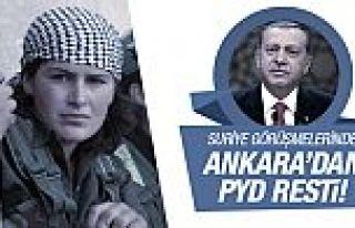Ankara'dan Suriye görüşmelerinde PYD resti!