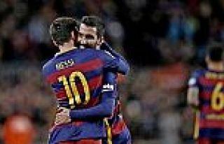 Arda ortaladı Messi attı