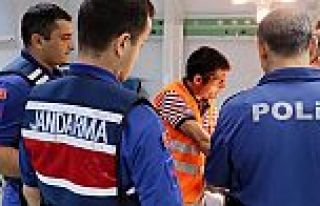 Arnavutköy'de hastanede görevli jandarma personeline...