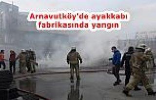 Arnavutköy'deki fabrikada çıkan yangında lüks...