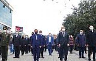 Gazi Mustafa Kemal Atatürk,Gaziosmanpaşa'da törenle...