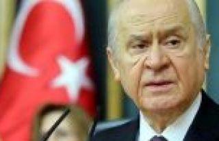 Bahçeli: Barzani ve çetesine karşı 5 bin ülkücü...