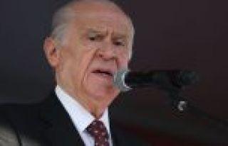 Bahçeli: Türkiye'de Kürdistan yoktur, olmamıştır,...