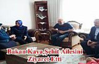 Bakan Kaya, Gaziosmanpaşa'lı Şehit Ailesini Ziyaret...