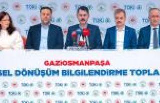 """Bakan Kurum: """"Gaziosmanpaşa'da Yıl Sonuna Kadar..."""
