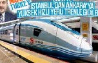 Bakan Varank: Milli YHT prototipi 2023'te raylarda...