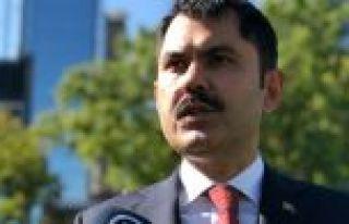 Bakanı Kurum: Türkiye olarak çevre konusunda birçok...