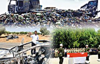 Barışa 2.100 saldırı