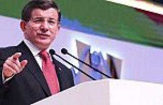 Başbakan Davutoğlu master planını açıkladı