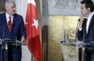 Başbakan Yıldırım'dan Yunanistan'a: Biz darbecilerin...