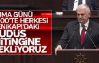 Başbakan Yıldırım'dan zulme karşı duruş çağrısı