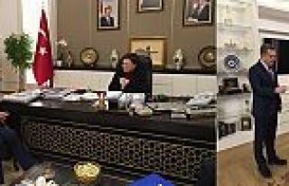 Başkan Usta, Bakan Sarı ile Gaziosmanpaşa'yı konuştu.