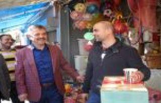 Başkan Usta Karayolları Mahallesi`ndeki Çalışmaları...