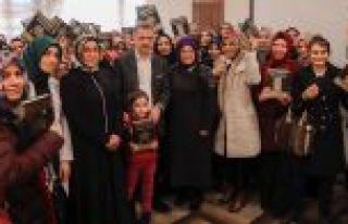 Başkan Usta Kur'an-ı Kerim'e Geçen Kadın Kursiyerlerin...