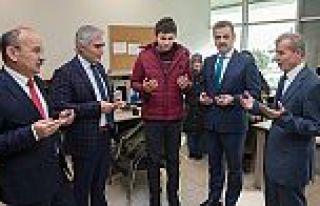 Başkan Usta'dan Mehmetçiklere 'Asker Çantası'...