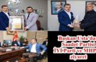 Başkan Usta'dan Saadet Partisi İYİ Parti ve MHP'ye...