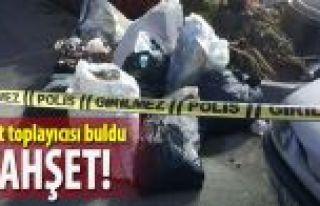 Bayrampaşa'da çuval içerisinde ceset bulundu