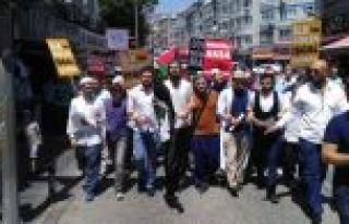 Bayrampaşa'da Gençler, Mescid-İ Aksa İçin Yürüdü