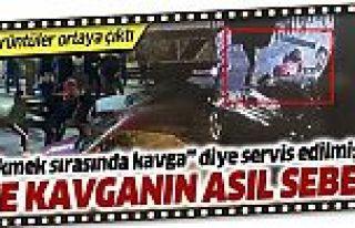 Bayrampaşa'daki kuyruk kavgası trafik kazası kavgası...