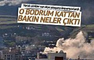 Bodrum' karargâh çıktı