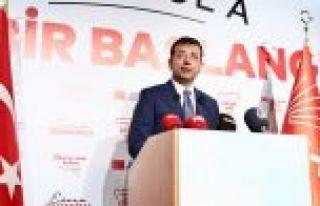 CHP'nin İstanbul adayı İmamoğlu: Umuyorum en yakın...