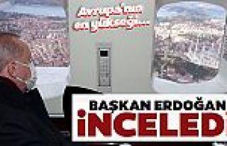 Cumhurbaşkanı Erdoğan, Çamlıca'daki kulelerin...