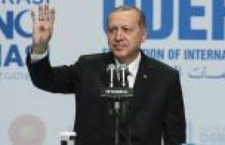 Cumhurbaşkanı Erdoğan: İsteseniz de istemeseniz...