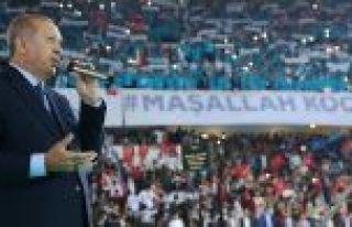 Cumhurbaşkanı Erdoğan: Milletin huzuruna kastedenlere...
