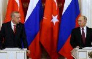 Cumhurbaşkanı Erdoğan: Rusya ile Suriye'de atacağımız...