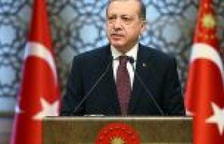 Cumhurbaşkanı Erdoğan: Sanat, sanatçılarımızın...