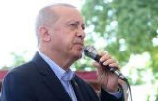 Cumhurbaşkanı Erdoğan: Şenler'in geride bıraktığı...