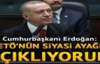 Cumhurbaşkanı Erdoğan'dan flaş sözler:FETÖ'nün...