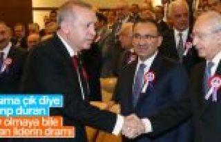Cumhurbaşkanı Erdoğan'ı gören Kılıçdaroğlu...