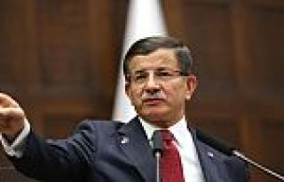 Davutoğlu'ndan HDP'li vekillere: Önce hendekleri...