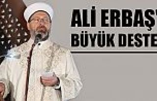 Diyanet İşleri Başkanı Ali Erbaş'a sosyal medyadan...