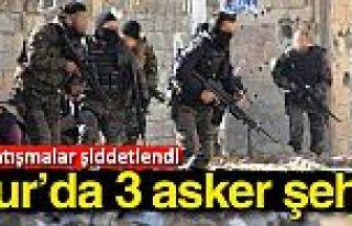 Diyarbakır Sur'da çatışma çıktı: 3 asker şehit