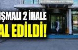 Ekrem İmamoğlu belediye ait iki önemli ihaleyi...