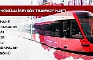Eminönü-Alibeyköy Tramvay Hattı 1 Ocak'ta hizmete...