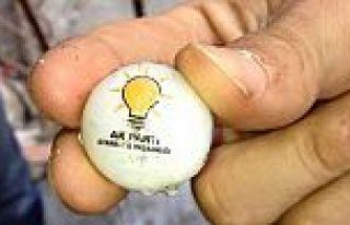 Emniyet'ten 'AK Parti logolu plastik mermi' açıklaması