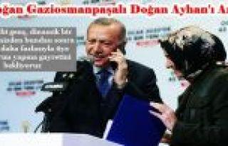 Erdoğan AK Partiye yeni üye olan Gaziosmanpaşalı...