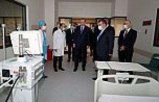Erdoğan, Başakşehir'de yerli solunum cihazını...